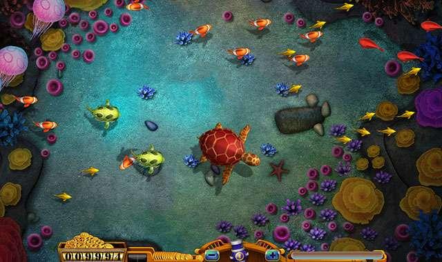 HTML5实现捕鱼达人网页版游戏fishjoy源码