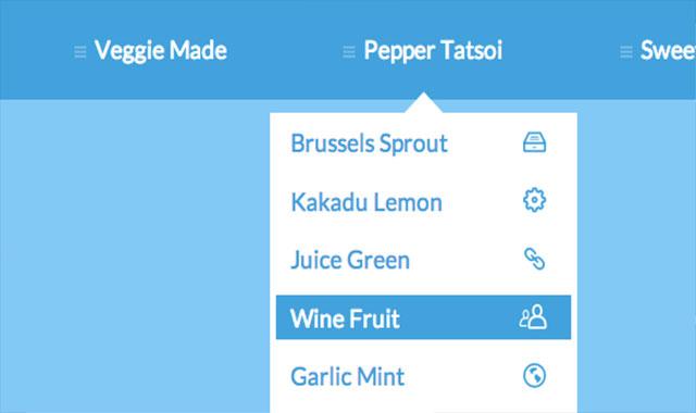 css3+js打造tooltips效果的导航菜单特效代码