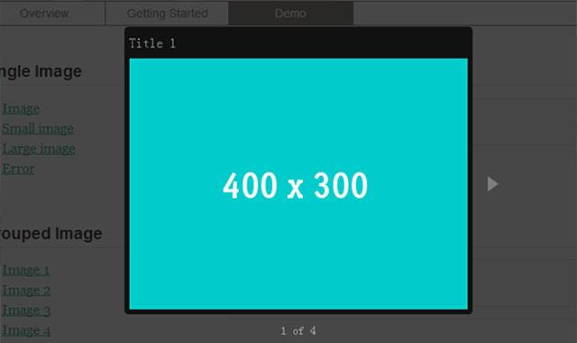 Vanillabox大小随图片变化的jquery焦点图插件