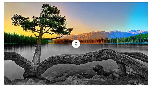 jquery通过滑块移动改变图片颜色插件