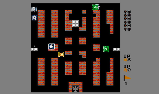 经典html5坦克大战游戏