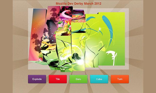 5种jQuery超酷3d幻灯片效果