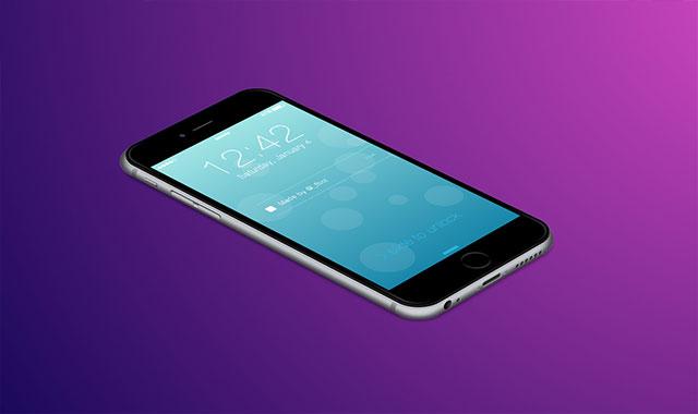 纯css3绘制超逼真iPhone6动画效果
