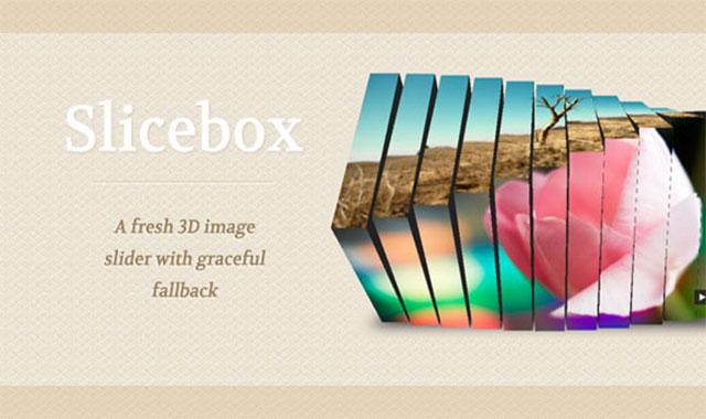 SliceBox-3D幻灯片插件介绍