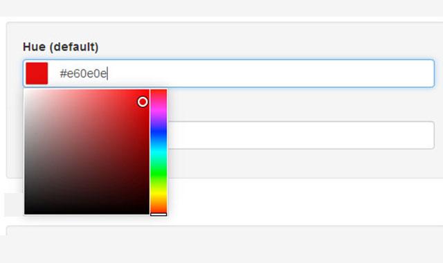 迷你型jQuery颜色选择器插件