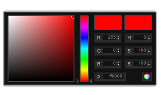 ps样式的jQuery颜色选择插件