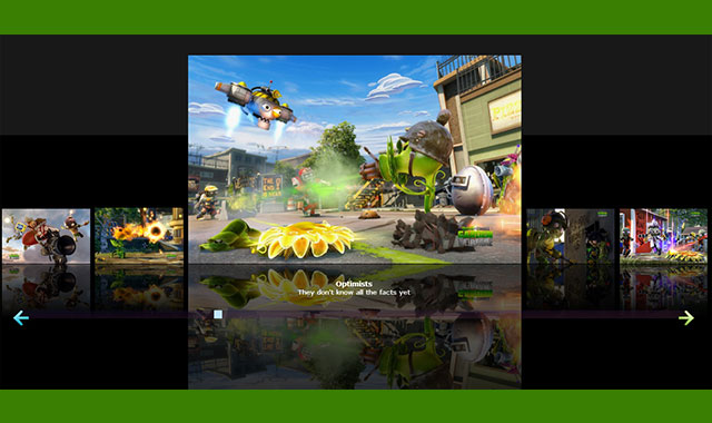纯js超酷全屏带缩略图和图片倒影的轮播图插件