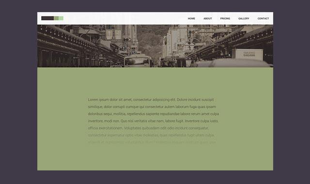 CSS交替固定网页背景视觉差特效
