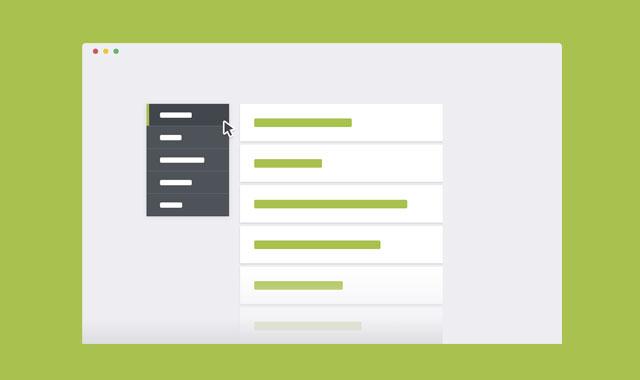 jQuery和css3简单实用的FAQ问答页面模板