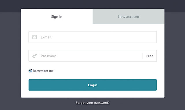 jQuery和css3实用登陆注册表单插件