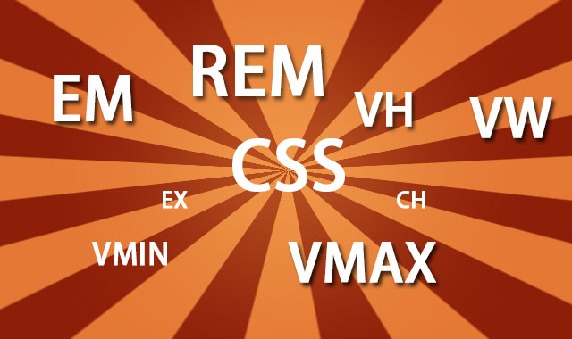 你不知道的7个CSS单位