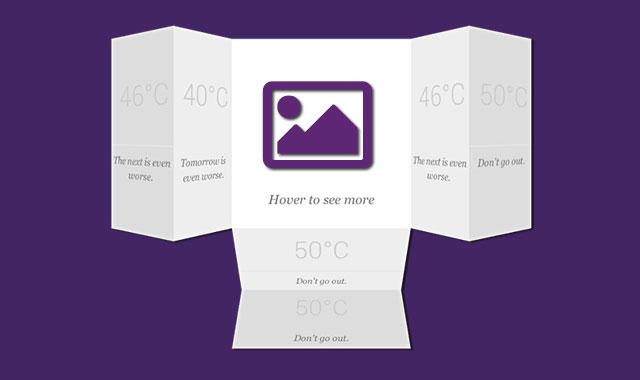 jQuery超酷卡片动态3d翻转特效插件