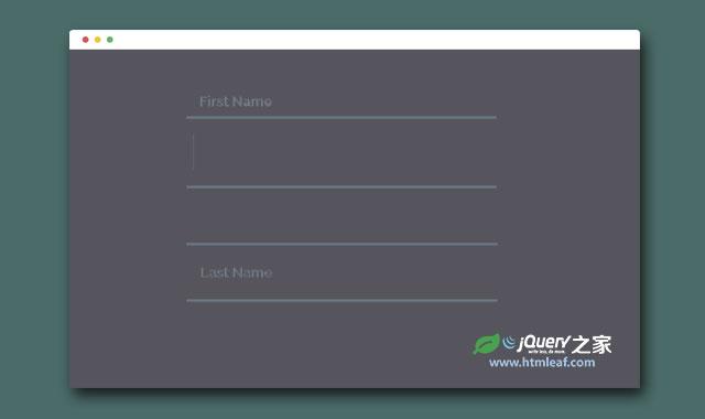 14种CSS3炫酷表单input输入框美化效果