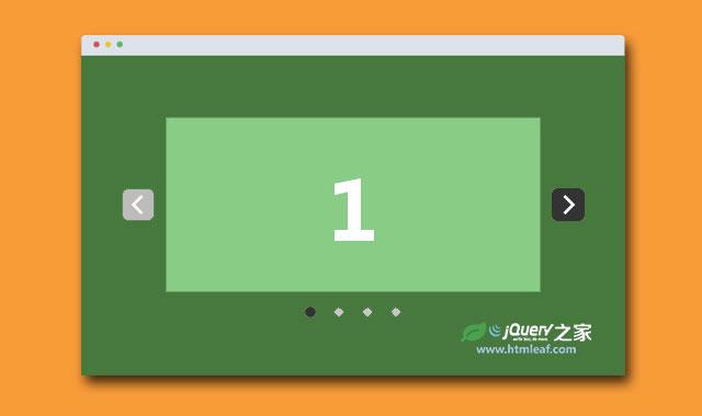 jQuery适合移动设备触摸屏的响应式幻灯片插件