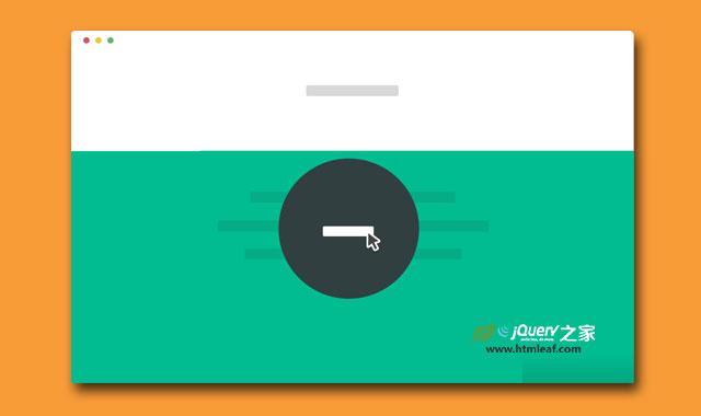 jQuery炫酷点击变形全屏放大的模态窗口