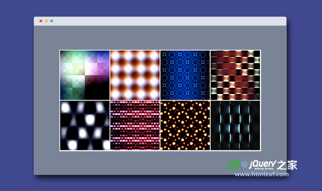 html5 canvas生成精美网页花纹背景图像js插件