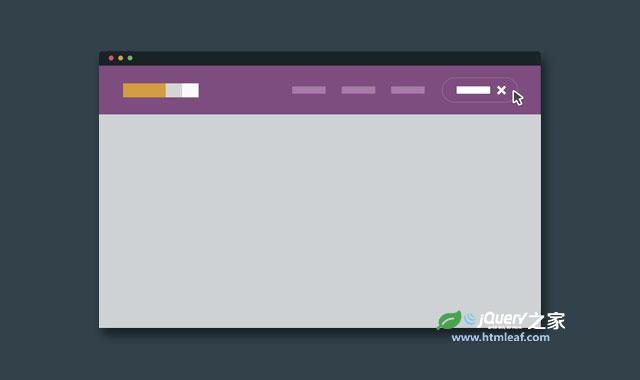 jQuery和CSS3超酷二级下拉菜单特效插件