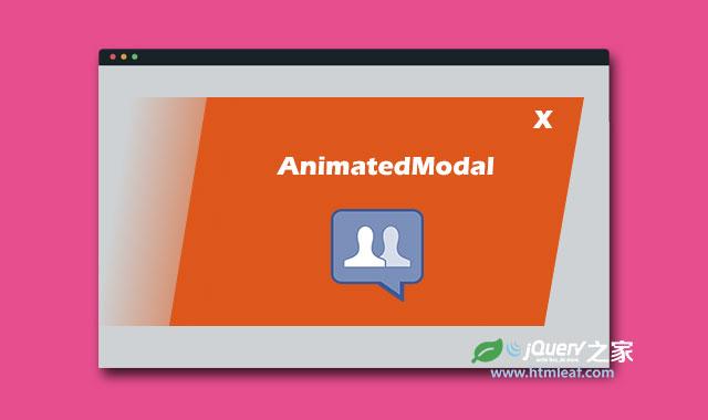 jQuery和CSS3全屏带过渡动画效果的模态窗口