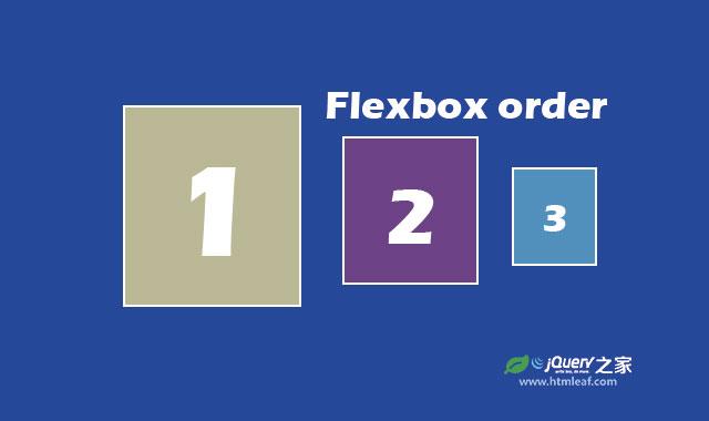 flexbox使用向导-flex元素排列顺序