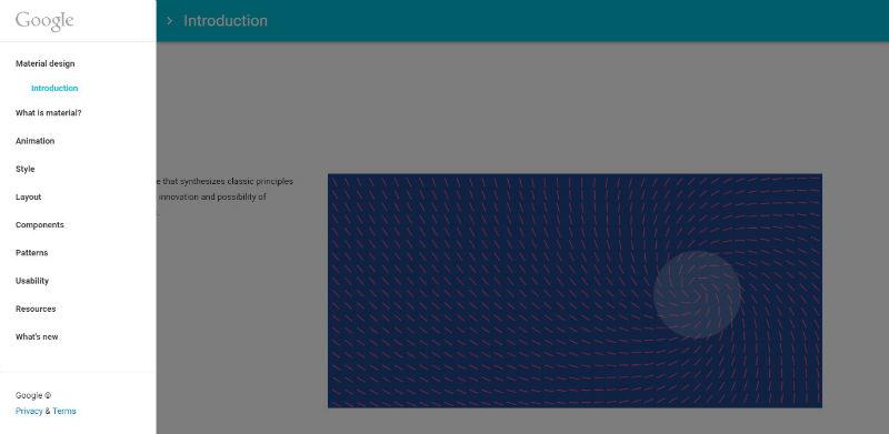 谷歌Material Design