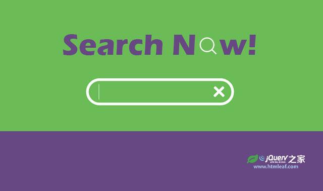 HTML5 SVG超炫搜索图标和搜索框转换动画特效