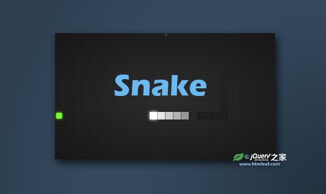 HTML5响应式网页贪吃蛇小游戏