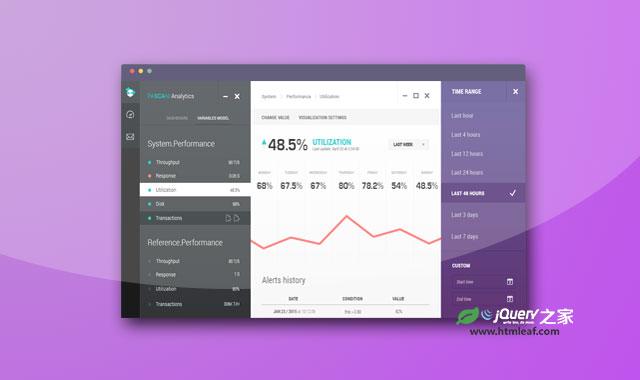 jQuery可最大化和最小化的多级导航菜单插件