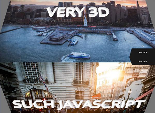 3D立方体幻灯片