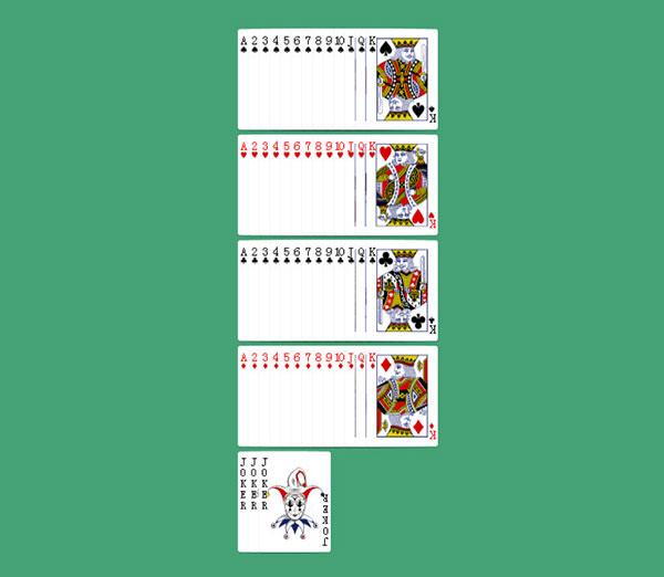 扑克牌花色分类