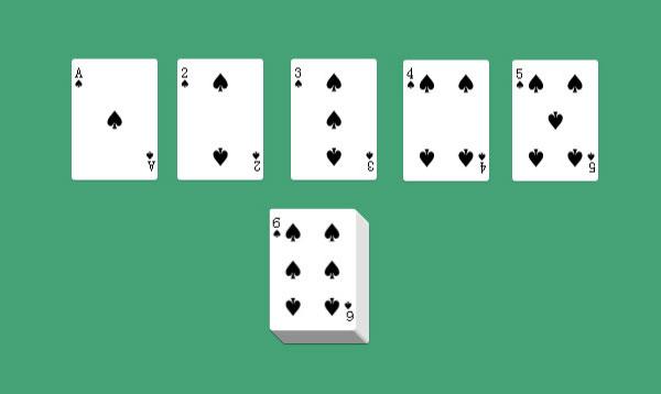 扑克牌排序