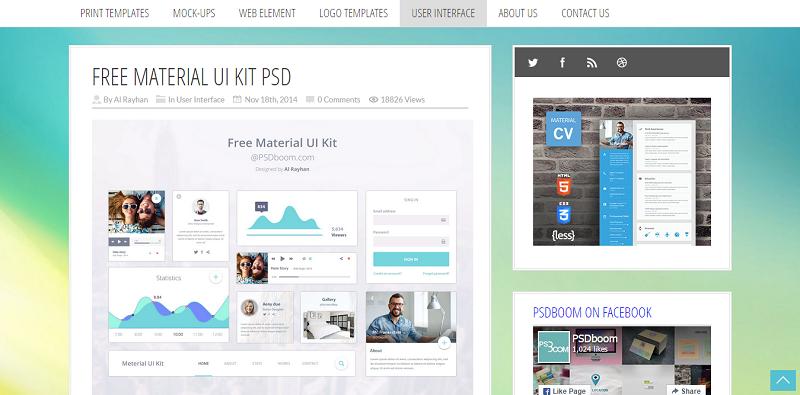 Free Material UI Kit