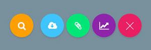 Material Design风格打开菜单按钮特效-5