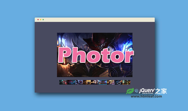 支持移动设备带缩略图的jQuery幻灯片插件