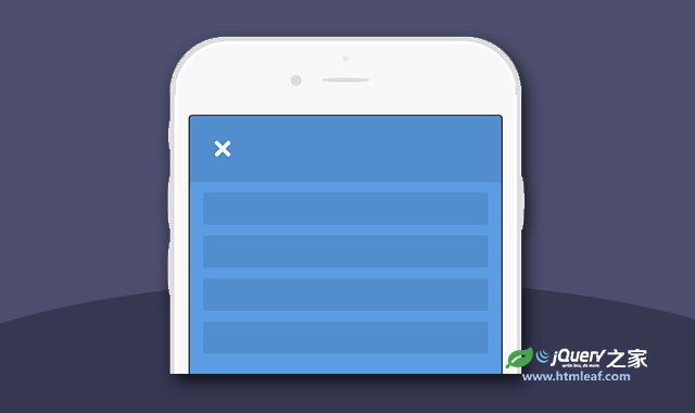 HTML5 svg汉堡包菜单按钮分段动画特效