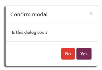 eModal确认框效果