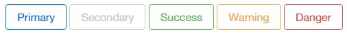 Bootstrap4的边框效果按钮