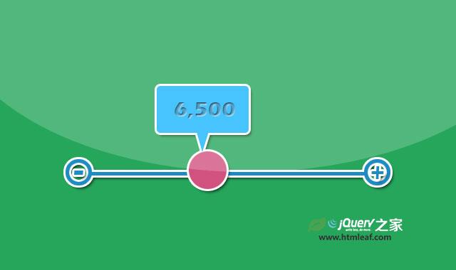Bubble Slider-可将input元素转换为漂亮的slider滑块的jQuery插件