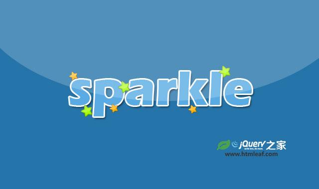 sparkle.jquery.js-基于SVG的jQuery星星闪耀特效插件