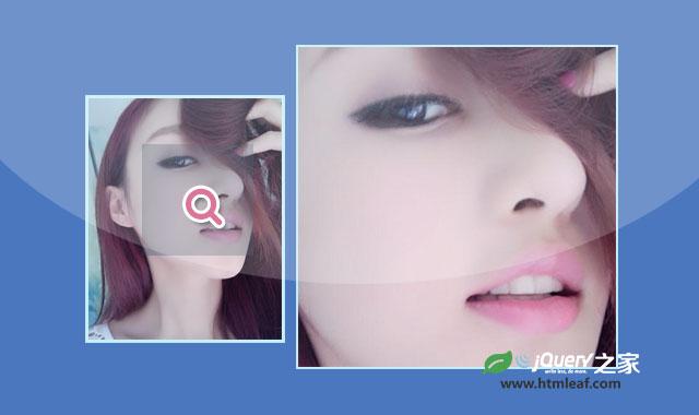 jZoom-轻量级jQuery图片放大镜插件