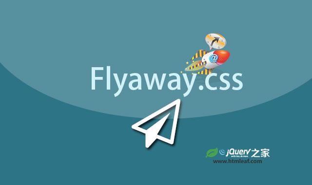 Flyaway.css-炫酷纯CSS3纸飞机动画特效