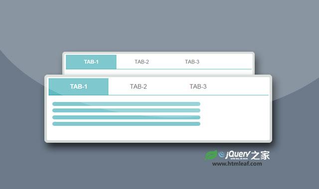 响应快速且易于使用的jQuery tabs选项卡插件