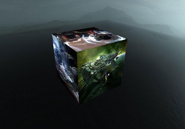 3D立方体效果