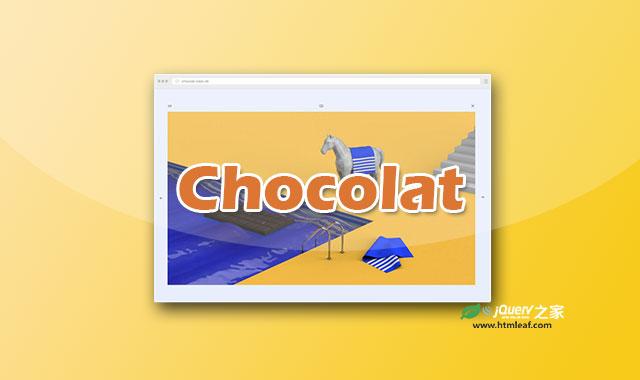 Chocolat-jQuery响应式LightBox插件