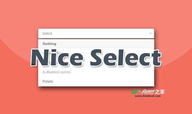 超酷select选择下拉框美化jQuery插件