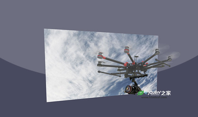 jQuery和CSS3超酷3d多层图片视觉差互动特效