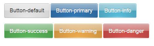bootstrap水晶按钮