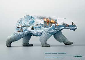 3D北极熊