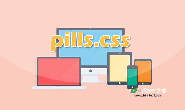pills-简单实用的响应式12列CSS网格系统