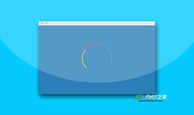 小巧的jQuery页面预加载指示器插件