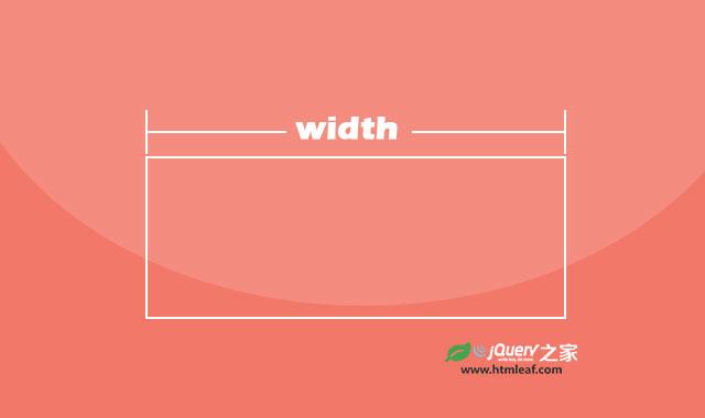 CSS属性参考 | width